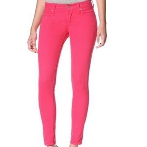 James Jeans Hot Pink Twiggy Super Skinny Jeans